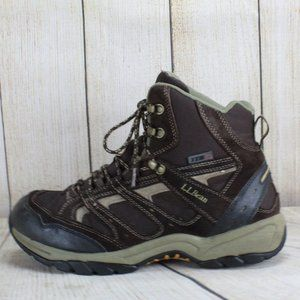 LL BEAN Lace-up Ankle Hiking Boots Size 11